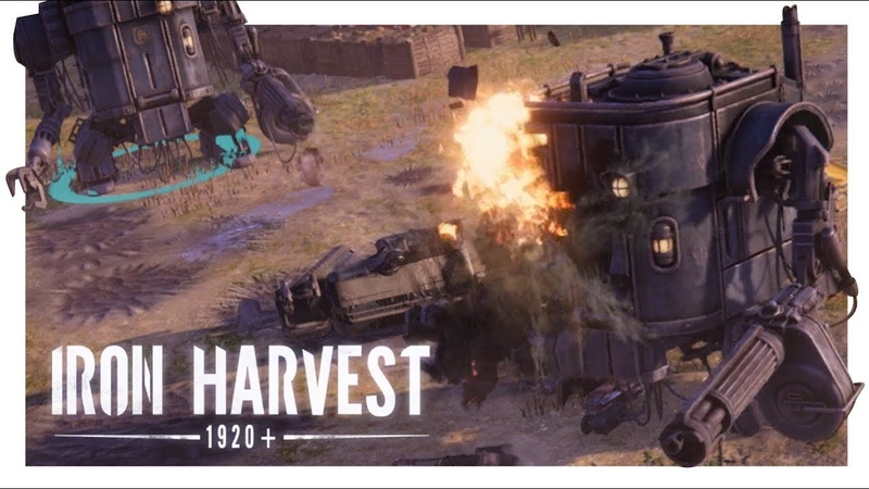 IRON HARVEST GAMEPLAY 1 Pre Alpha Kickstarter Demo Early Look PC RTS