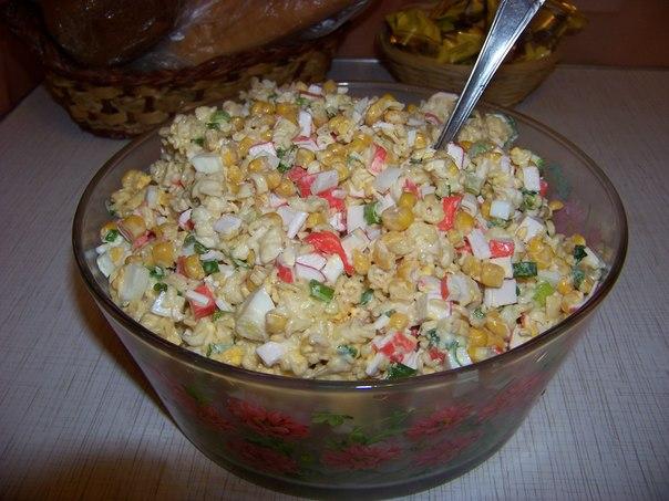 Салат з мівіни рецепт фото