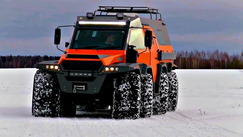 Russia's Best Off Road Vehicles for Hunting, Fishing Expeditions