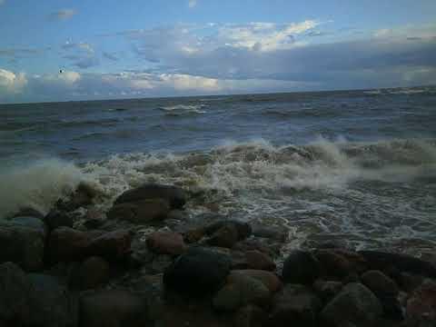 Злой шторм Финского залива