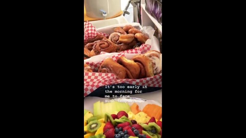 Еда на съемочной площадке (видео Шеннона Кука - Джордана)