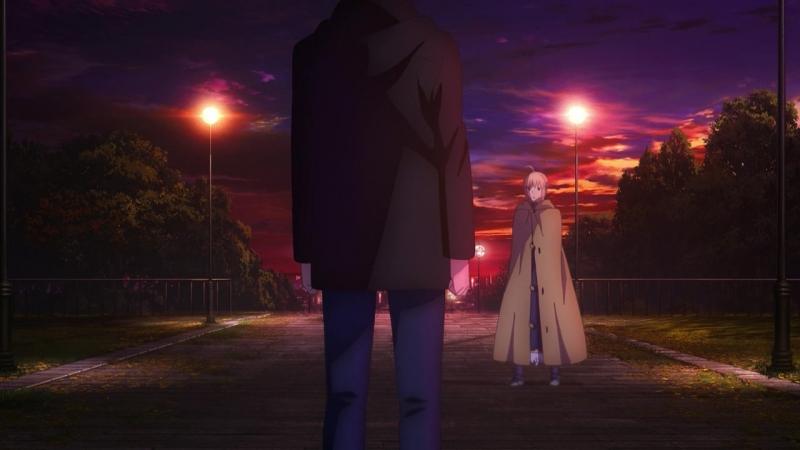 [SHIZA] Судьба. Ночь схватки (фильм): Прикосновение небес / Fate/stay night Movie Heavens Feel - I. Presage Flower [MVO] [2017]