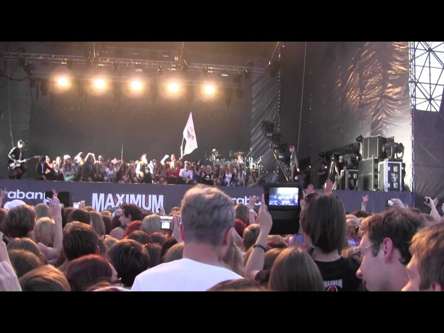 30 Seconds to Mars Up in the Air Live @ Maxidrom Moscow 12 06 2013 cut