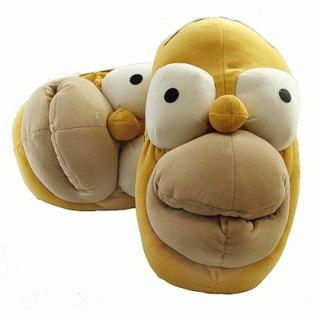 Тапочки-игрушки Гомер Симпсон.