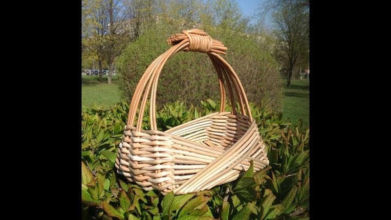 29 Мастер класс от А до Я Корзинка в стиле Zarzo DIY Basket Weaving Tutorial ENGLISH SUBTITLES