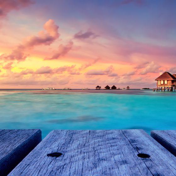 Прекрасные Мальдивы! ♥