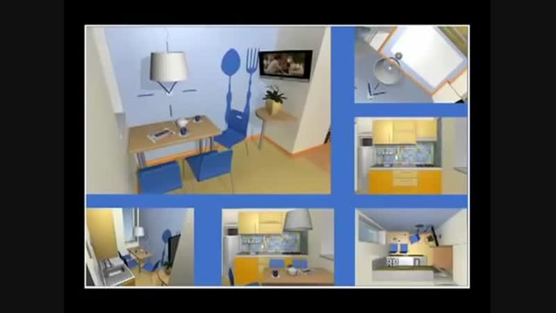 Кухня 6 кв метров-Евроремонт