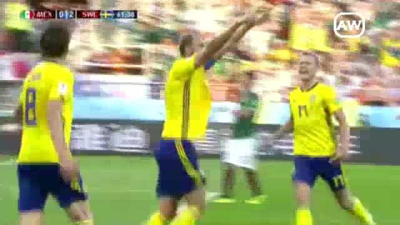 México 0-3 Suecia (Grupo F - Fecha 3 - Mundial Rusia 2018)