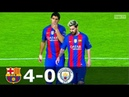 Barcelona vs Manchester City 4 0 UCL 2016 2017 Highlights English Commentary HD