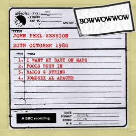 Bow Wow альбом John Peel Session [20th October 1980]