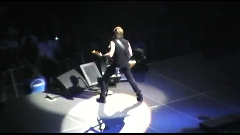 Metallica Kirk Solo Nothing Else Matters Live Seattle Wa 12 01 2008