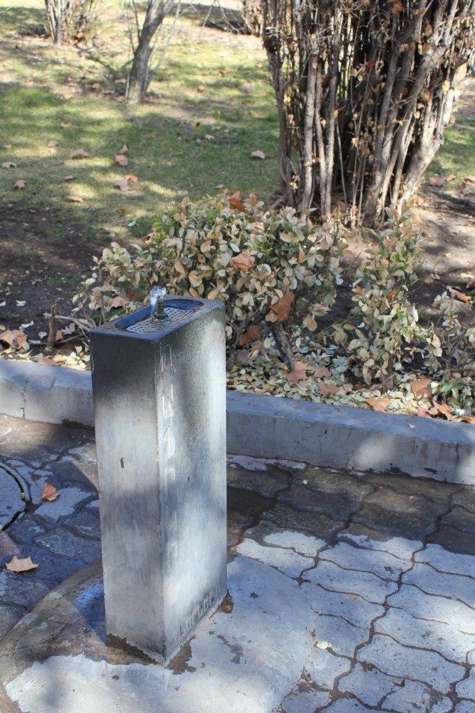 фонтанчик с водой Ереван
