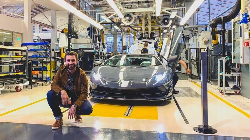 Factory Collection Of A Lamborghini Aventador S!