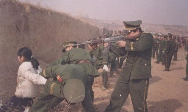 40 статей уголовного кодекса Китая, предусматривающих смертную казнь