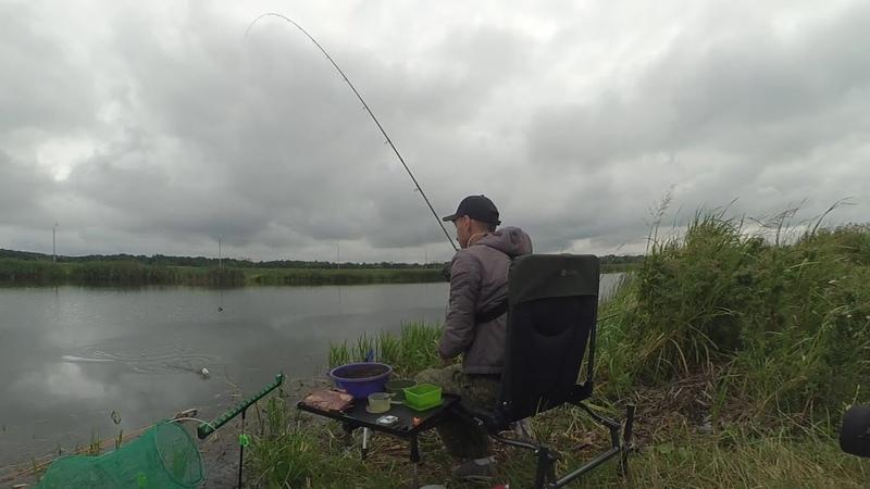 Рыбалка на Фидер. Три часа ловля на Канале.