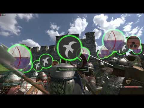 Mount Blade: Warband - Прохождение - 13 Я воюю как хочу осаждаю как хочу
