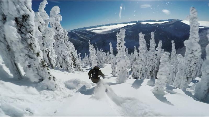 Mikkel Bang Rides Craig Kelly's Board | Baldface Lodge | GoPro