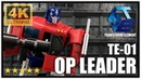 Transform Element TE-01 Leader Op Transformers Masterpiece Optimus Prime