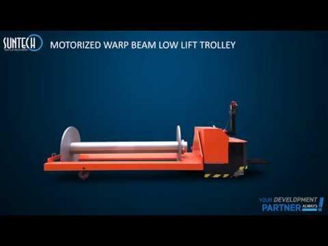 Warp Beam Truck. Suntech Brand, Model ST-MBT-09
