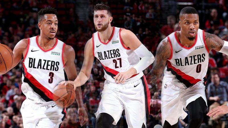 The Best of Lillard, McCollum, and Nurkic in Portlands Match-up with Utah | 2018 NBA Preseason NBANews NBA Blazers