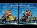 Crash Team Racing Nitro-Fueled | Switch vs PS4 - Graphics Load Time Comparison