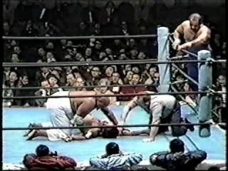 Abdullah The Butcher & Ciclon Negro vs. Masio Koma & Samson Kutsuwada