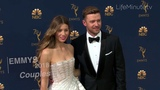 Emmys 2018 Couples Jessica Biel and Justin Timberlake, Scarlett Johansson and Colin Jost and More