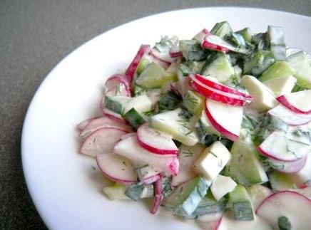 Салат из редиски с фото