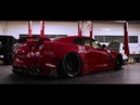 Rare FERRARI RED Nissan GT-R R35 FT. ARMYTRIX Exhaust LB-Works Kits By RACE! South Africa