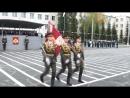 Вручение Боевого знамени НВВКУ