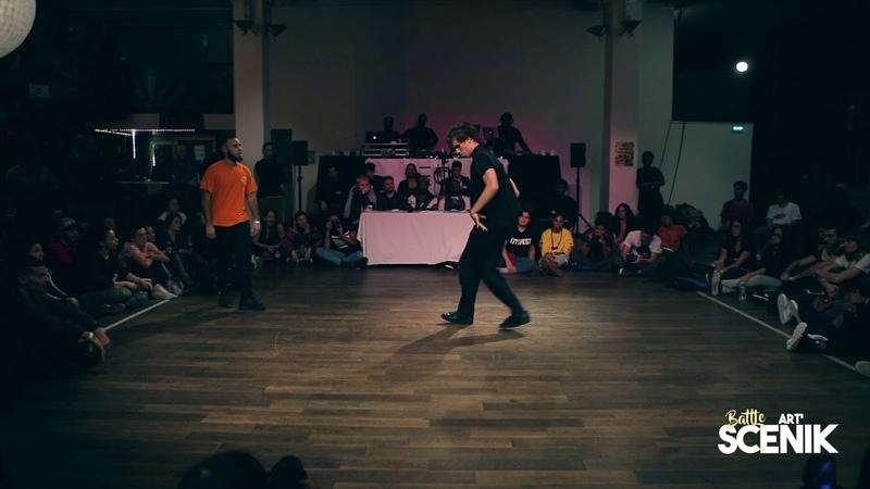 [BATTLE ART SCENIK 2018] Final break - Ciano VS Ilyes | Danceproject.info