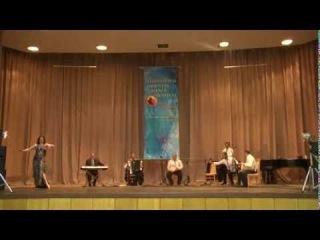 Anna Kurilenko - baladi and tabla solo improvization (Cairo mirage 2014)