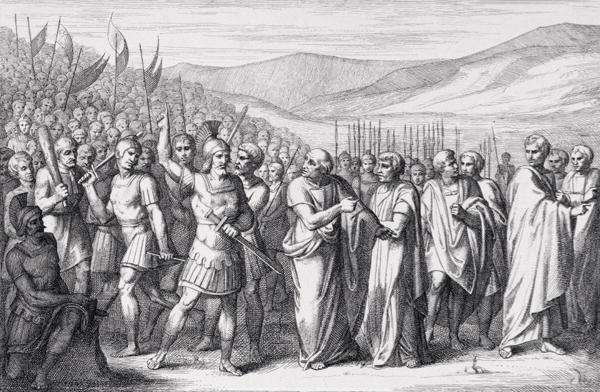 Способ борьбы за свои права в Древнем Риме