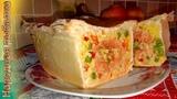 Пирог с лососем и рисом от Эктора Хименес-Браво