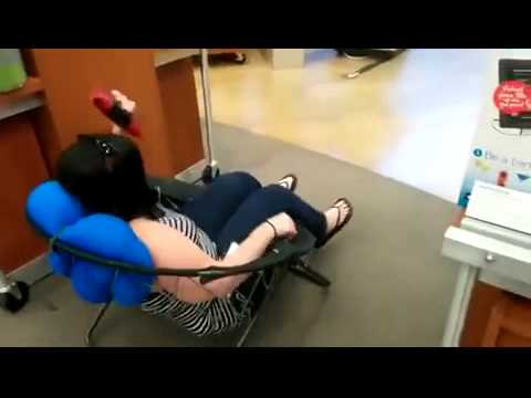 Fat Girl Adjust In Small Chair That Is Amazing Segment