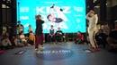 Аня vs Zheka Come On 1 2 Hip Hop Beginners KIDZA DZA DZA BATTLE KIDZDZADZA