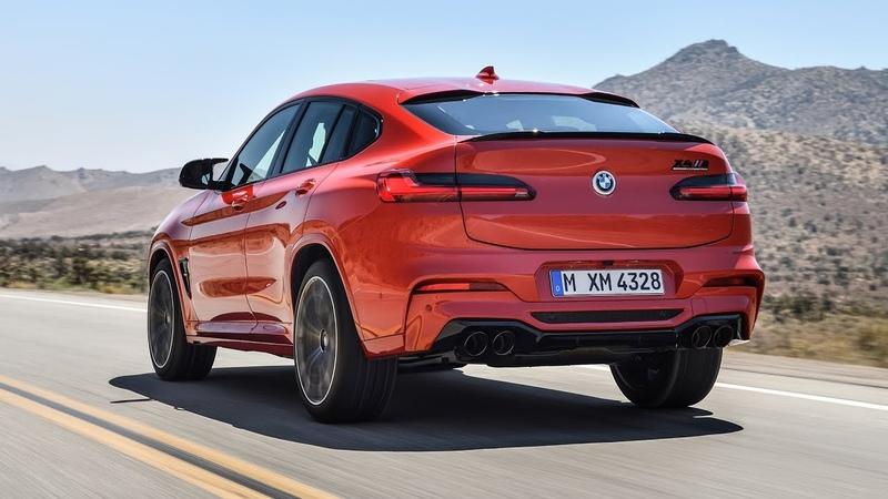 BMW X4 M Competition 2019 официальное видео