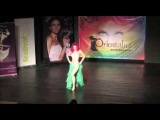 Orientalna Kontrabanda 2014 - Weronika Sahar Litwin on Gala Show - Rumba Oriental