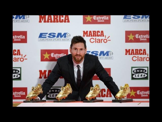 Lionel Messi Golden Boot Awards 24 NOV 2017 Лионел Месси церемония вручения золотой бутсы