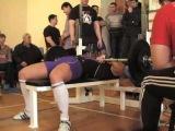 Галанин СВ Русский жим 75кг на 55, СВ=89,40 кг, 19 02 12