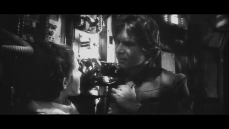 Cena estendida Cena do beijo de Han Solo e Leia Organa