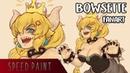 Bowsette Fanart