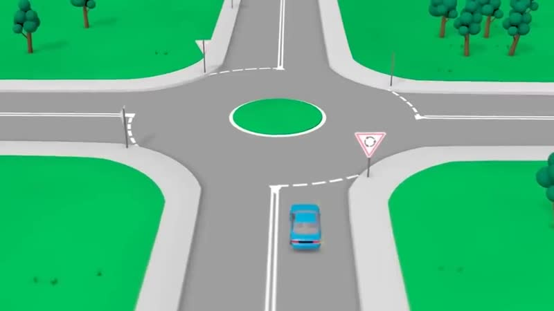 ТОП-5 спорных моментов на кругу. Какой поворотник включать, какую полосу занимать? Полный разбор.