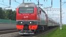 Электровоз ЭП2К-311 с пассажирским поездом №116 Москва - Уфа