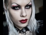 Elena from Demona Mortiss inspired makeup look tutorial by Delyria