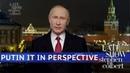 Американский телеканал с пародировал Путина, изобразив его с татуировками и цепями на шее