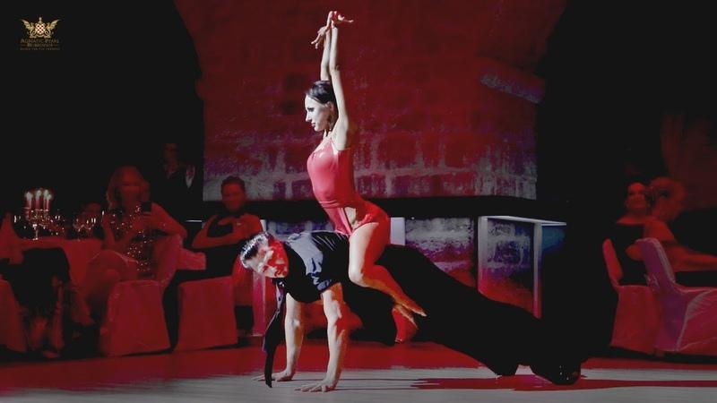 Denis Tagintsev - Ekaterina Krysanova   2018 Adriatic Pearl Dubrovnik - Showcase Feeling Good
