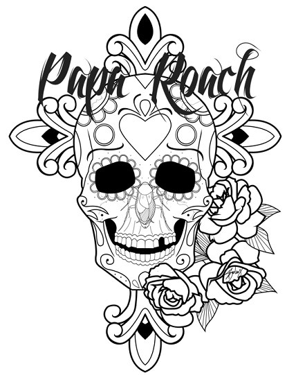 free roach approach coloring pages - photo#31