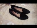 Черные балетки 27 см