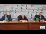Пресс-конференция Кубка мэра Москвы. Витязь - Динамо 25.08.18